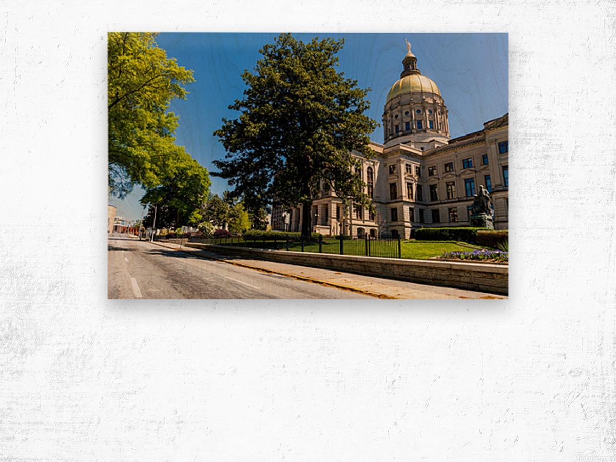 Georgia State Capitol Building   Atlanta GA 6984 Wood print