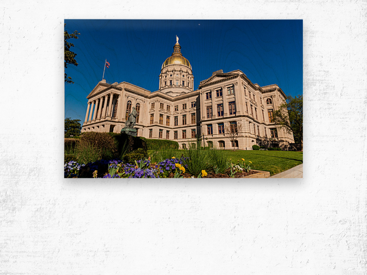 Georgia State Capitol Building   Atlanta GA 7236 Wood print