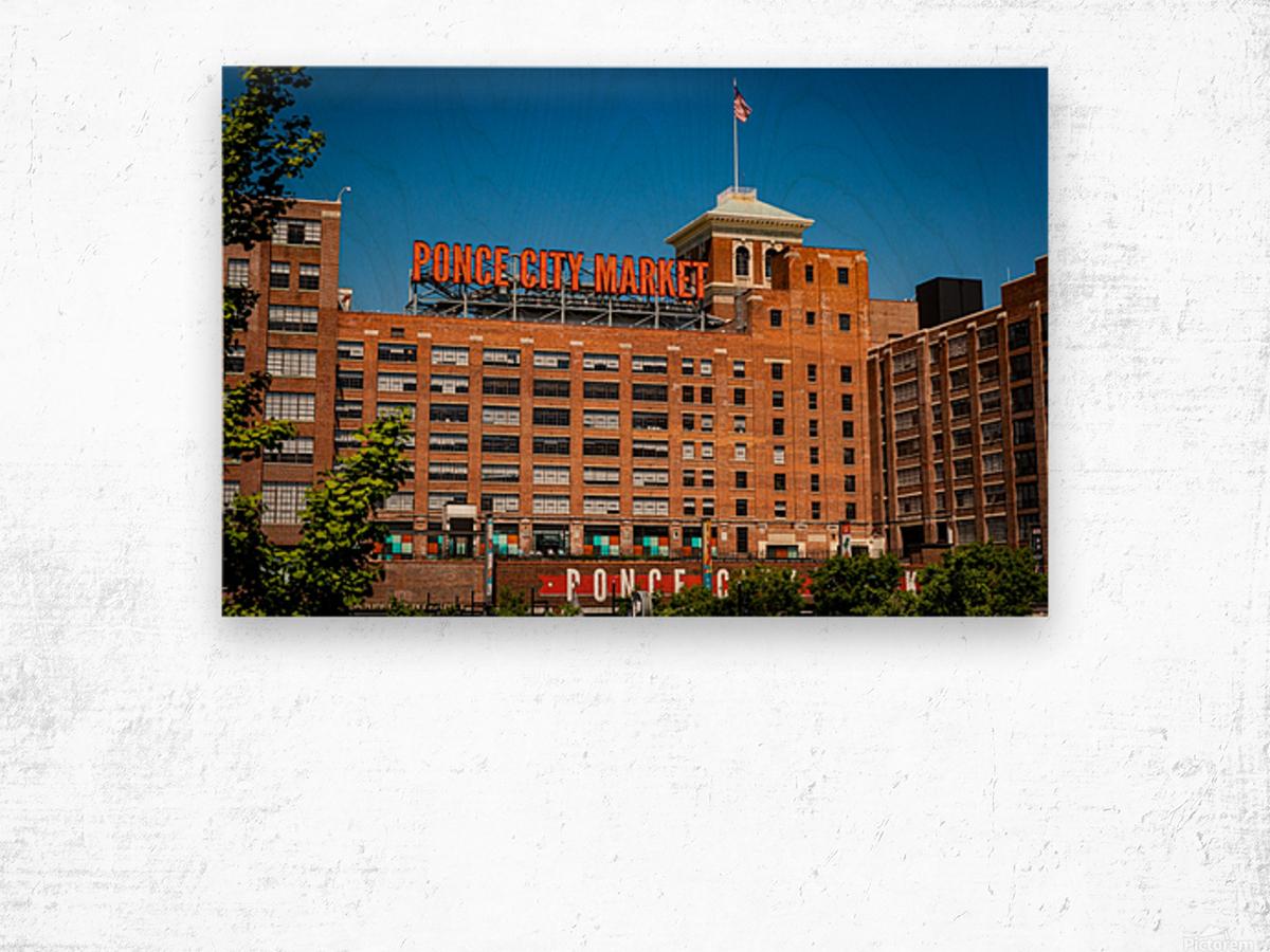 Ponce City Market   Atlanta GA 7045 Wood print