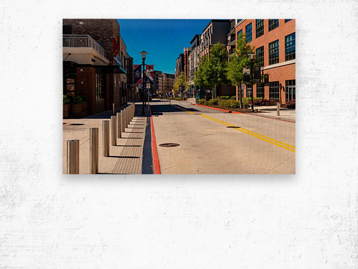Truist Park   The Battery Atlanta GA 6769 Wood print