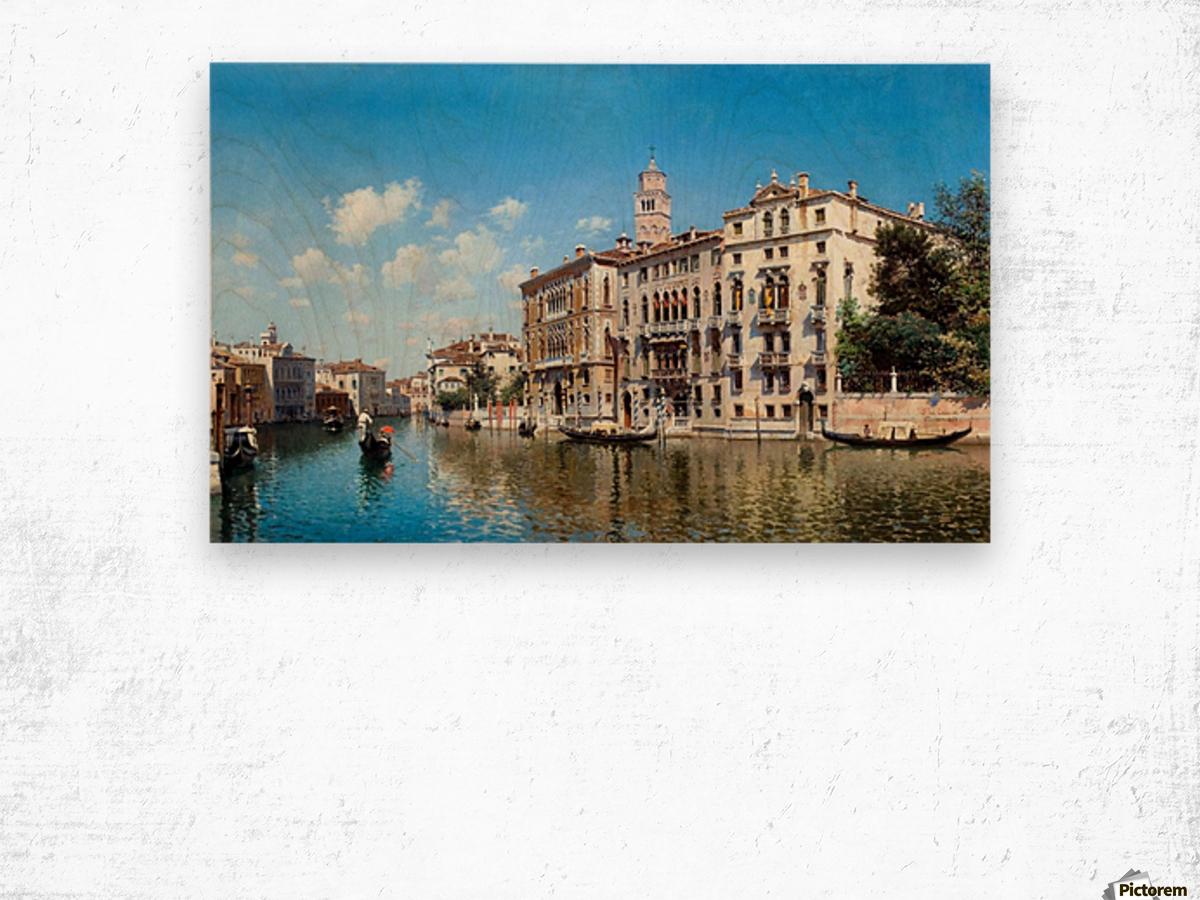 Palazo Cavalli-Franchetti, Venezia Wood print