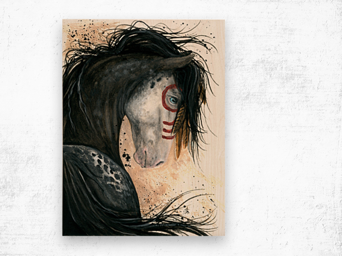 Appalossa Painted Horse Wood print