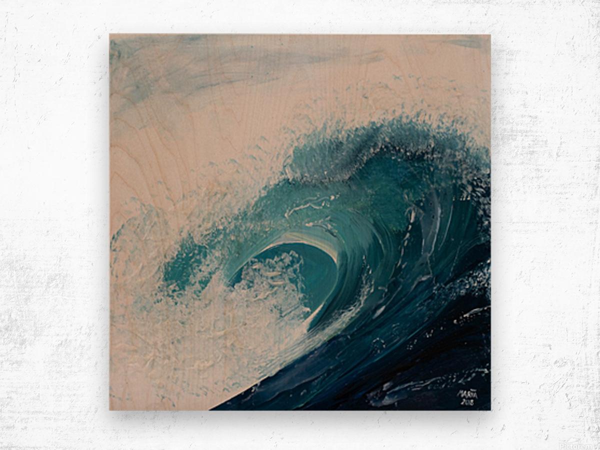 Collection WAVES-Current Impression sur bois