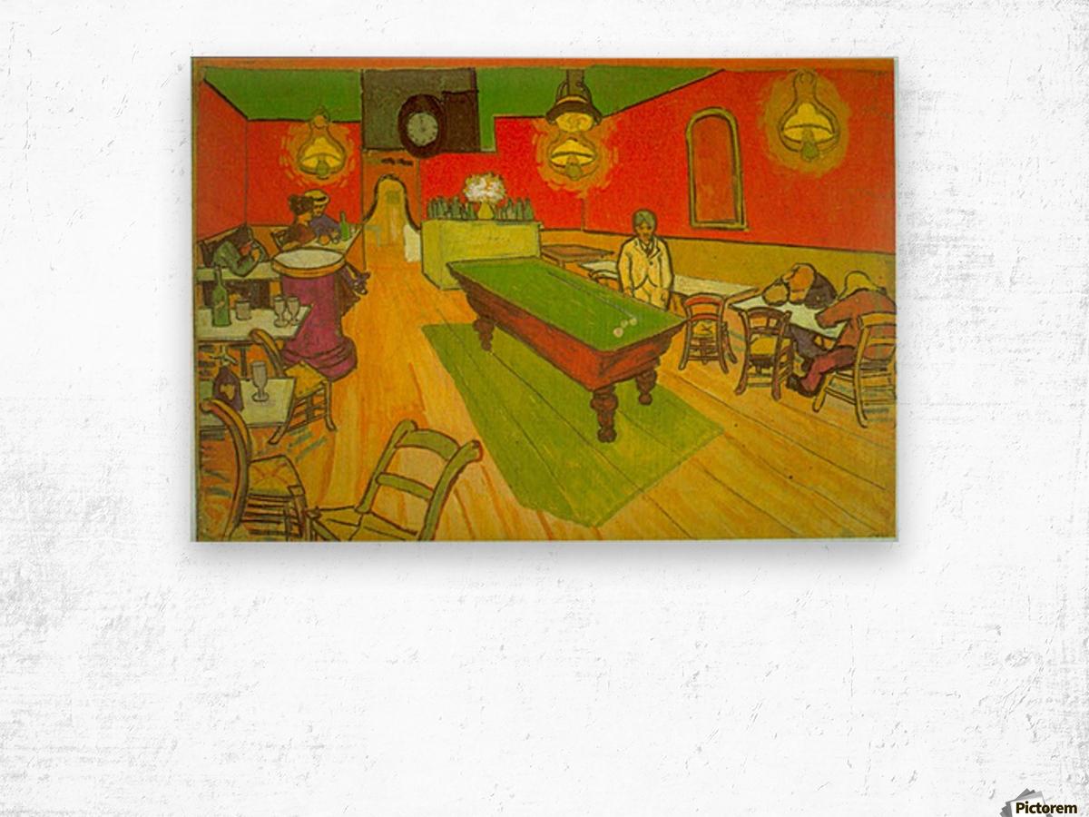 Night Cafe by Van Gogh Wood print