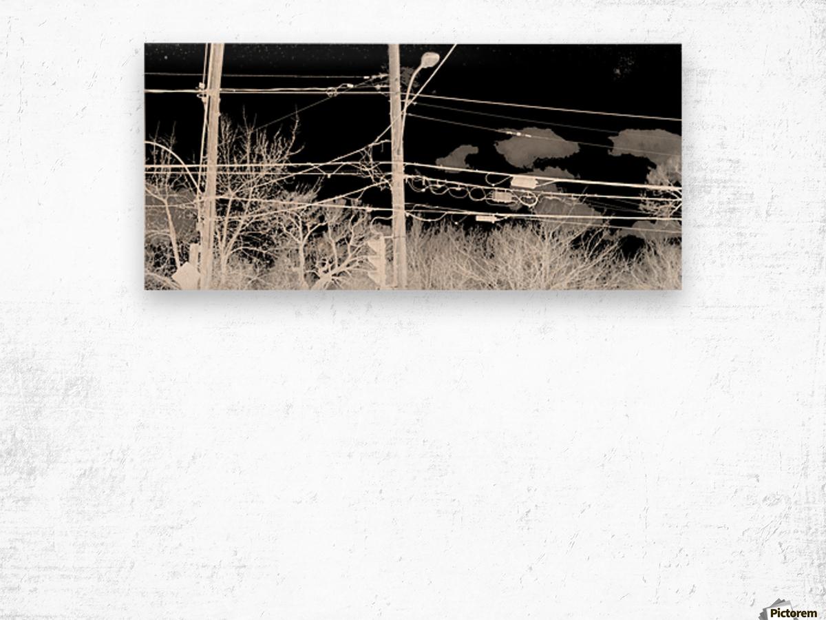 ELLERDALE Wood print