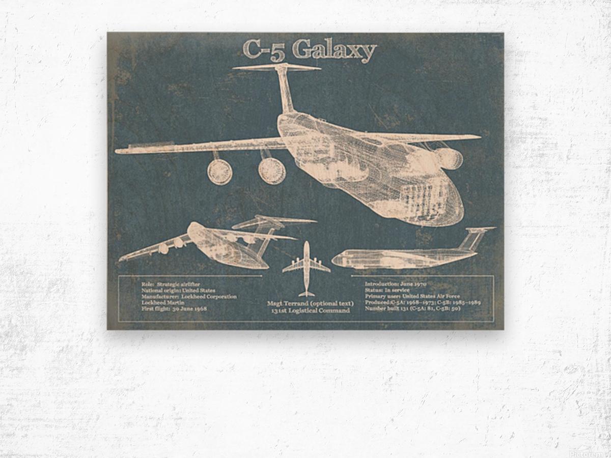 c 5 Wood print
