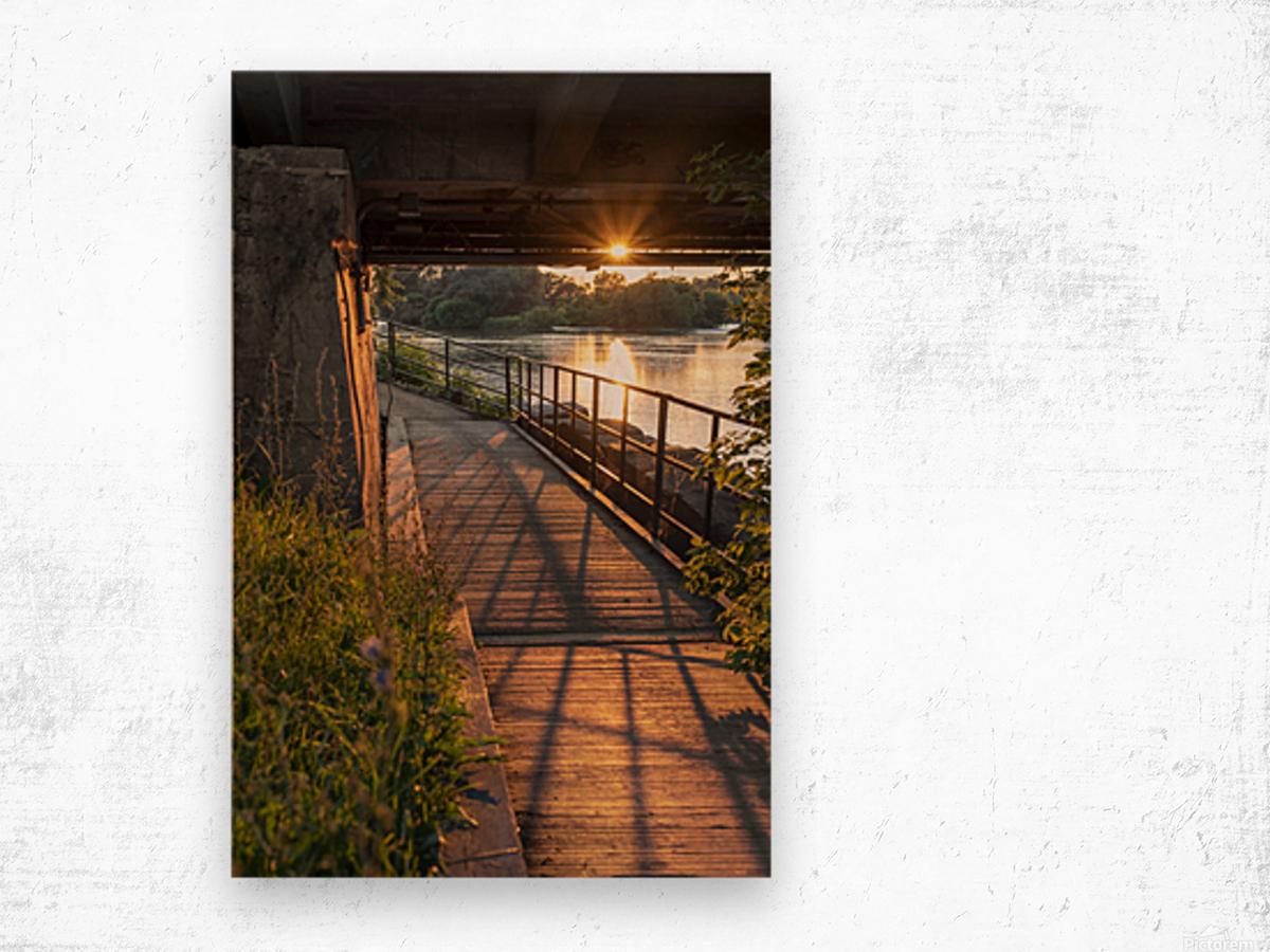 BridgeBoardwalk Impression sur bois