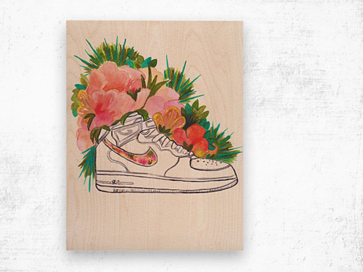 Air Force Fresh Wood print