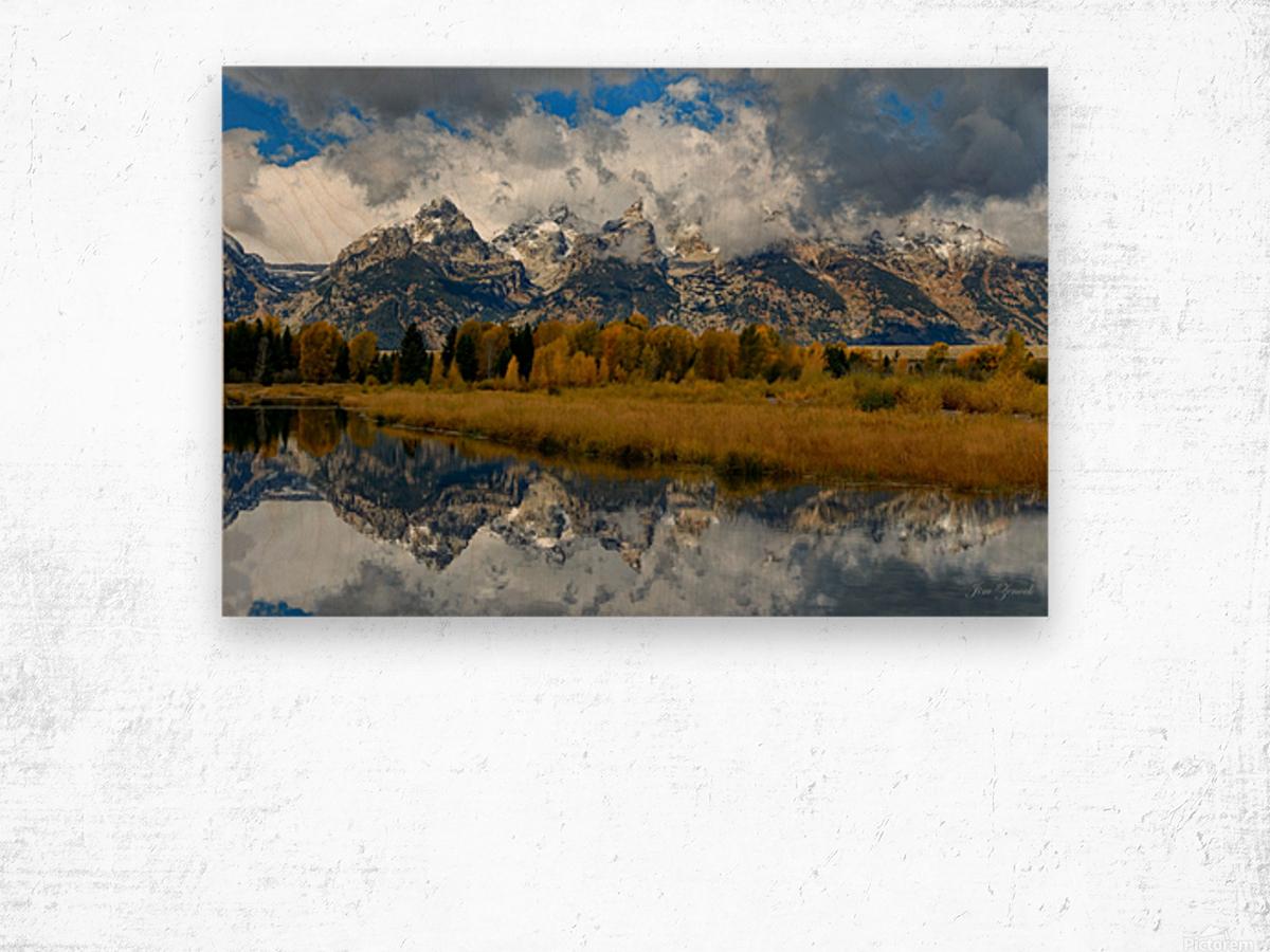 Grand Teton National Park Wood print