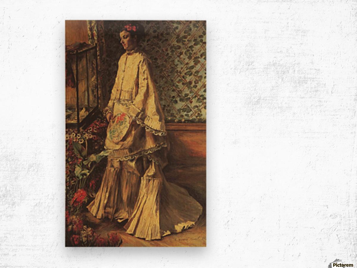 Portrait of Rapha by Renoir Wood print