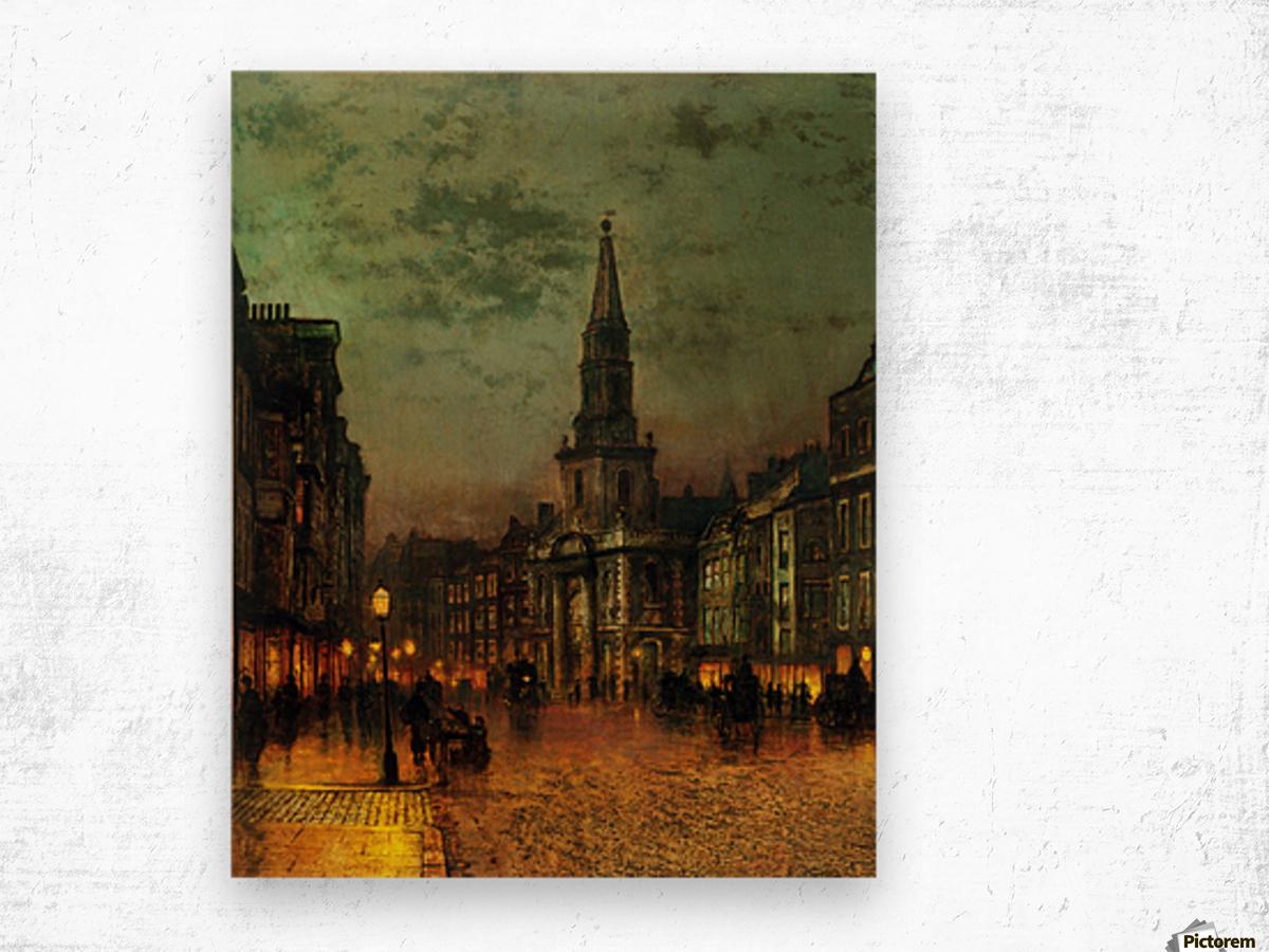 Blackman Street, London Wood print