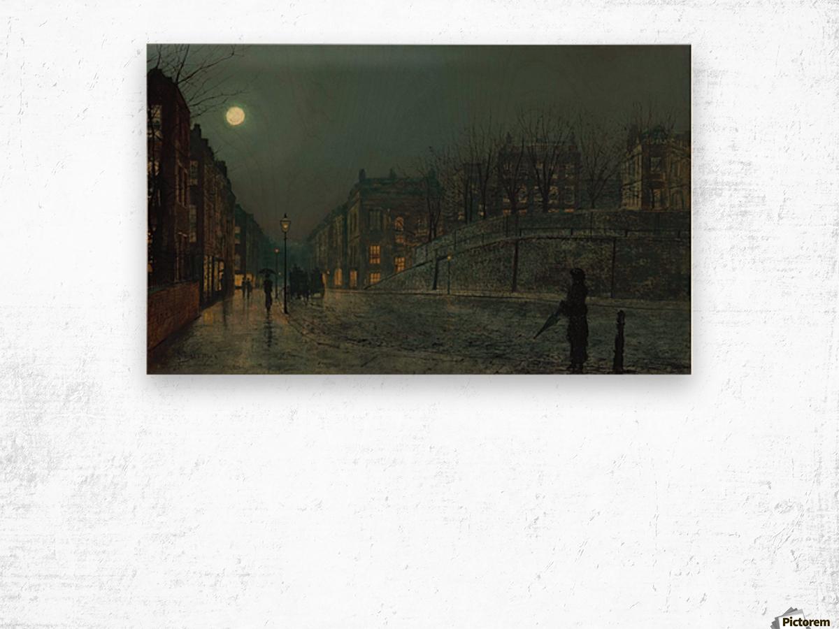 Heath Street, Hampstead Wood print
