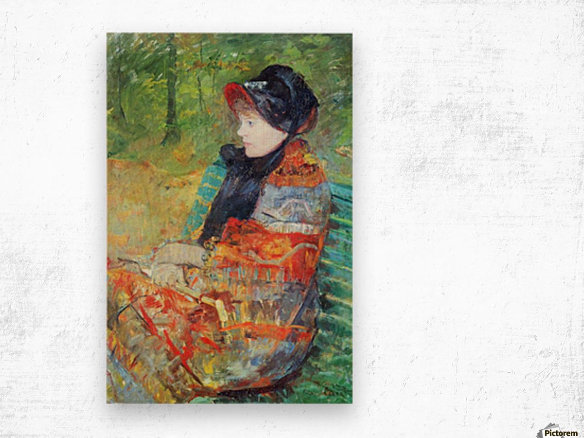 Profile of Lydia by Cassatt Wood print