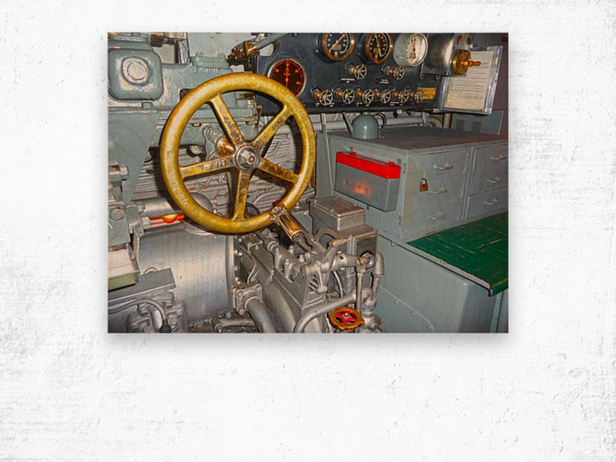 Submarine 2 Wood print