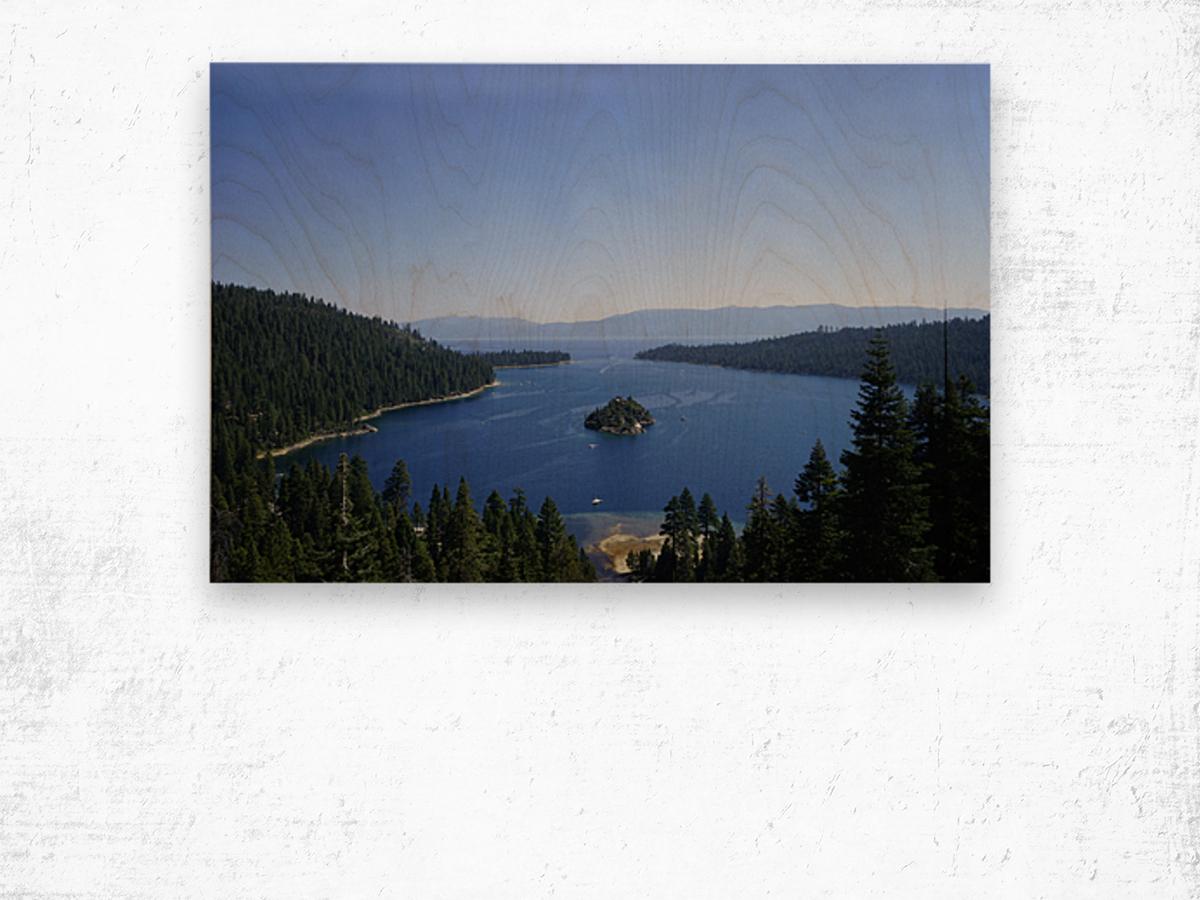 Top of the Lake Wood print