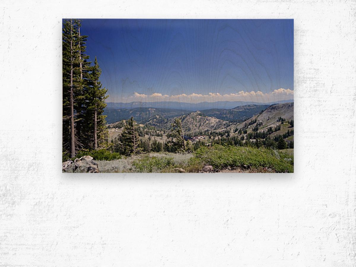 Sierra Nevada in Spring 2 of 8 Wood print