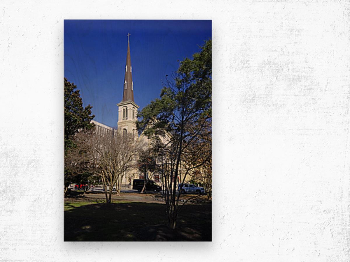 Snapshot in Time Charleston 2 of 5 Wood print
