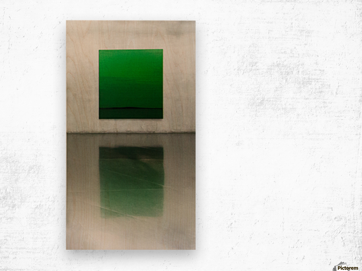 Green by Toni Guerra  Wood print