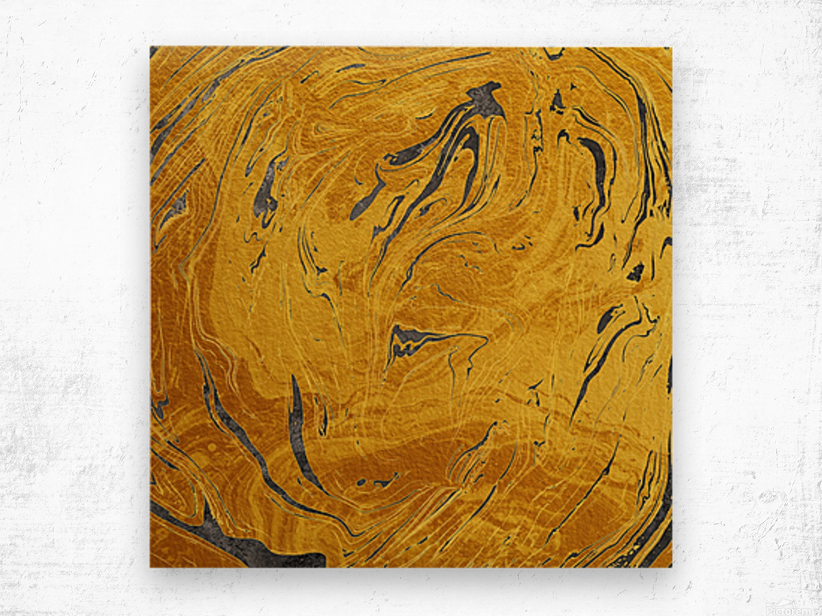 Abstract Marble XXX Wood print