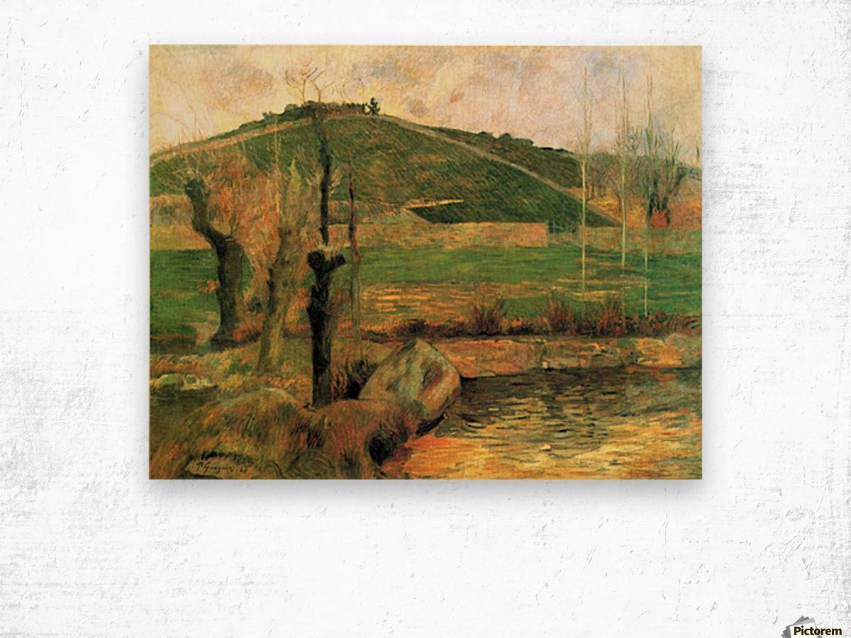Sainte Marguerite near Pont-Avon by Gauguin Wood print