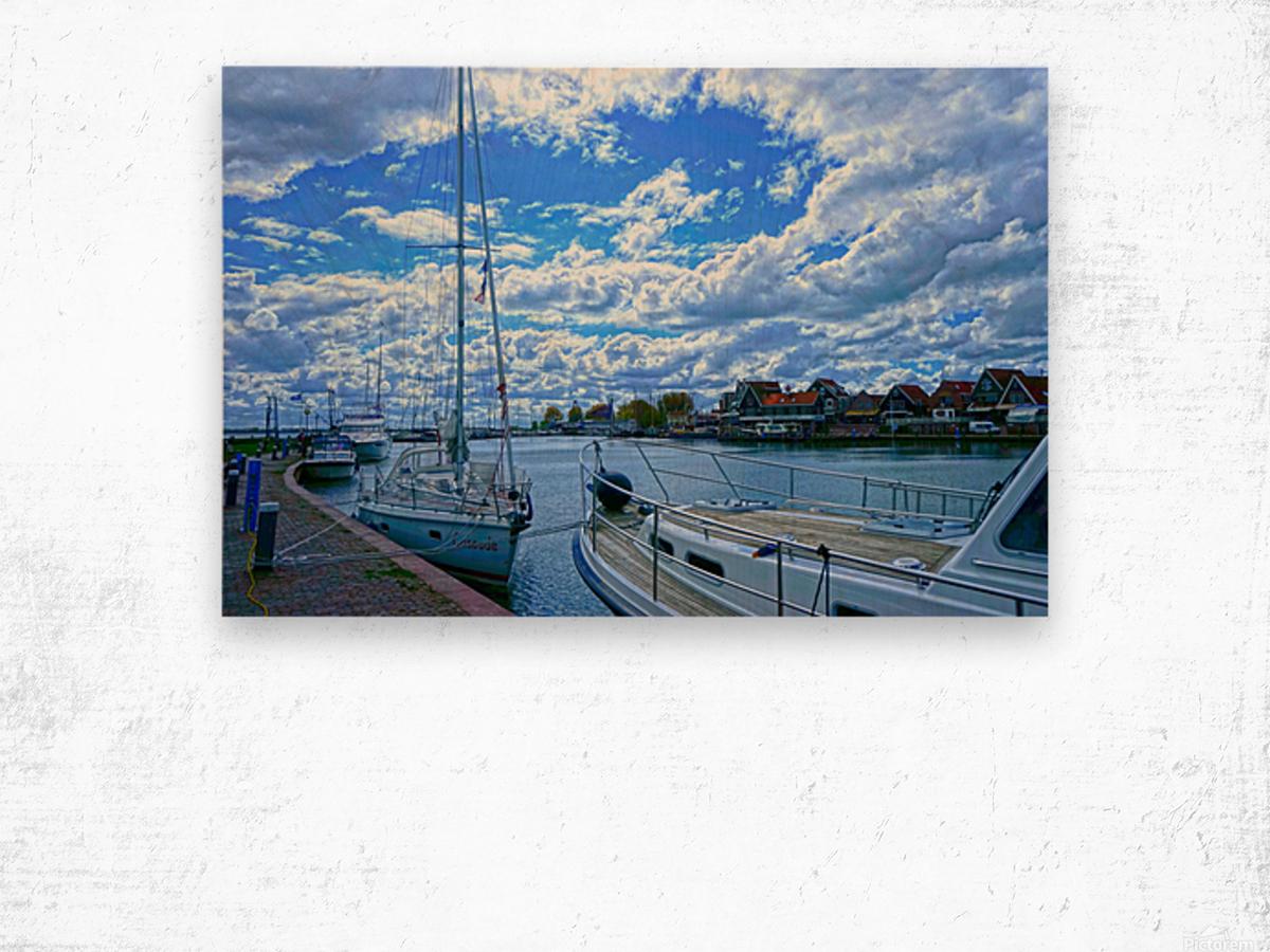 Inland Harbor Netherlands 2 of 5 Wood print