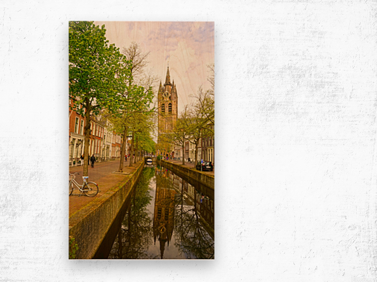 A Dream of the Netherlands 1 of 4 Wood print