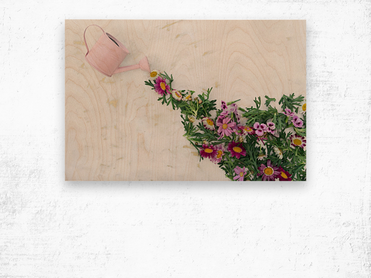 Daltana Spring Griall Wood print
