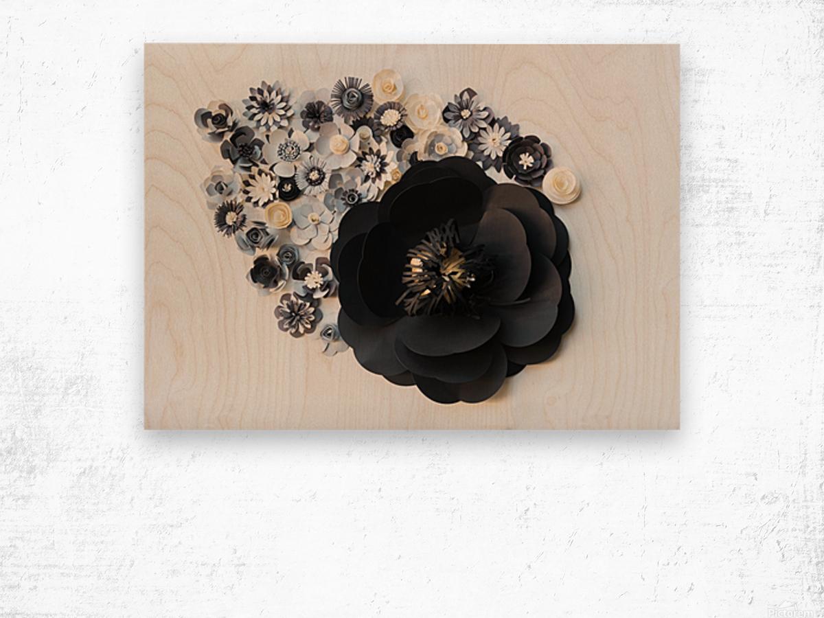 Daltana Spring Jarill Wood print