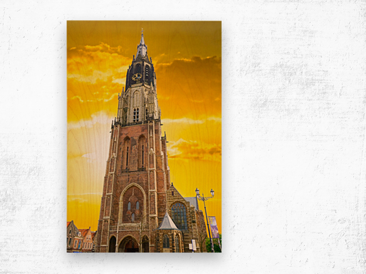 A Dream of the Netherlands 4 of 4 Wood print