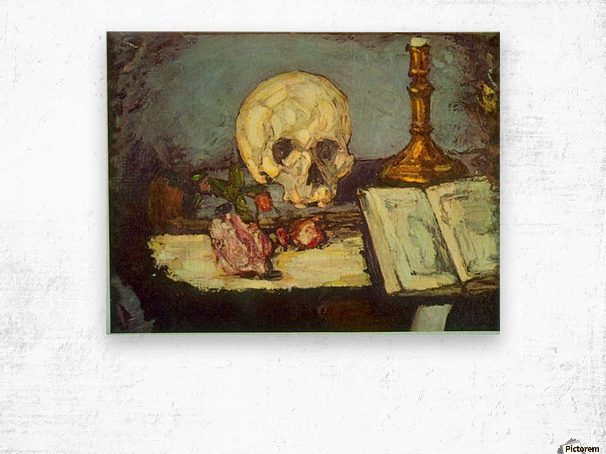 Skull by Degas Wood print