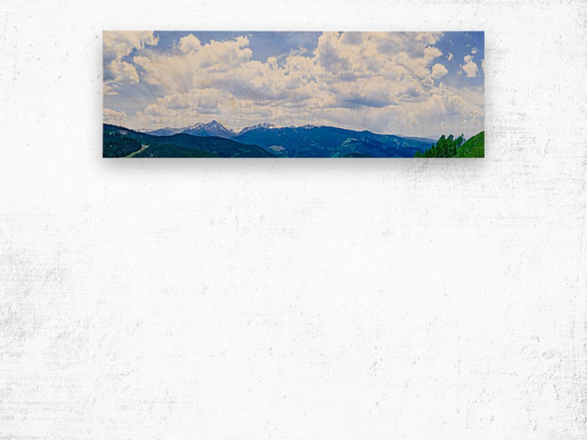 The Sawatch Range Colorado Wood print