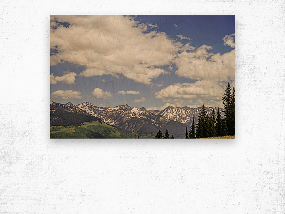 Back Country Colorado 5 of 8 Wood print