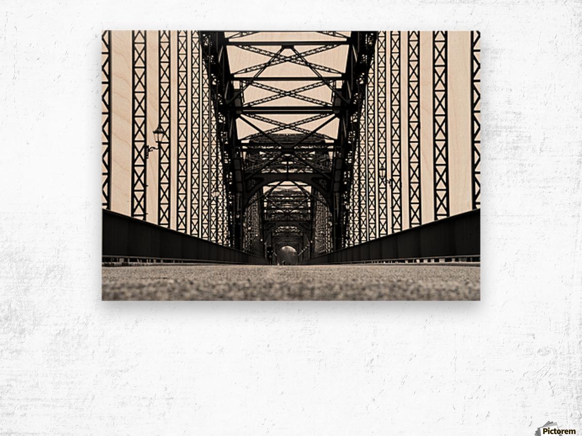 dot1 Wood print