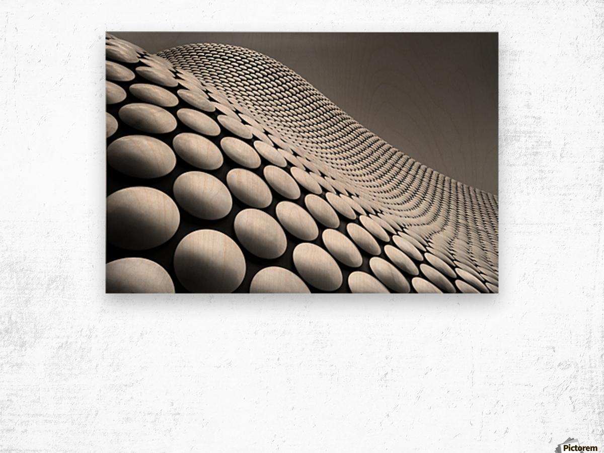 Curve Wood print