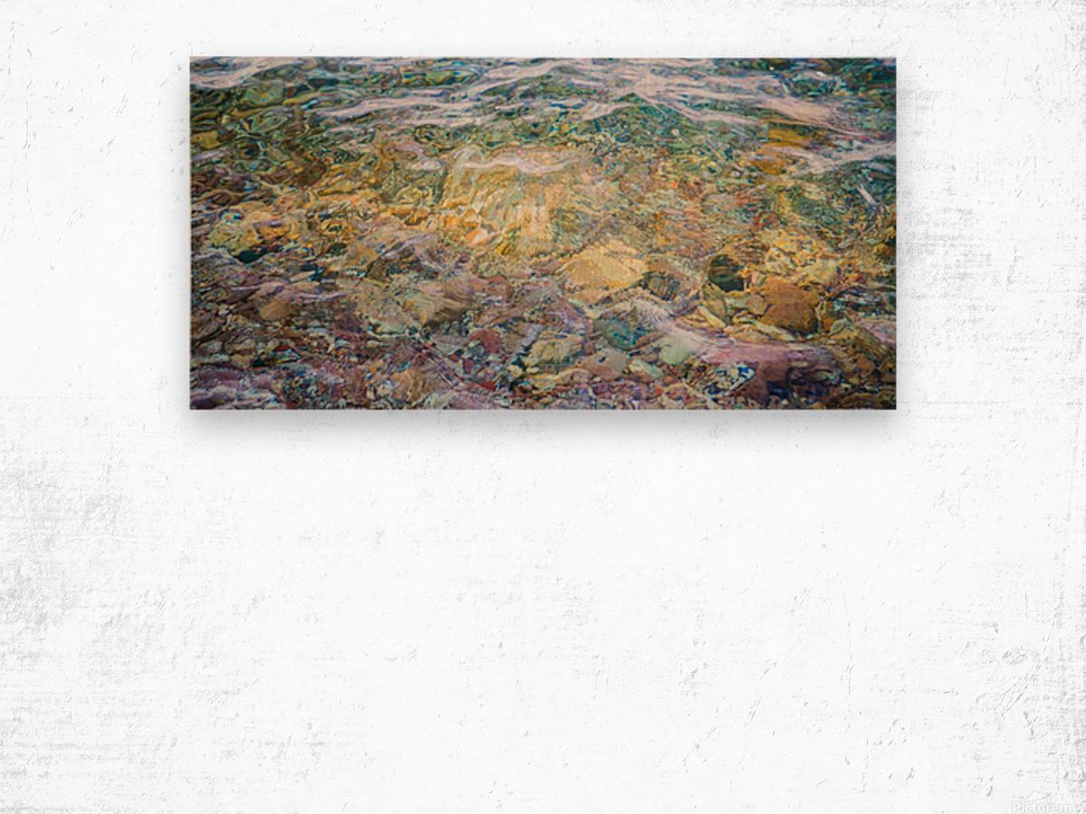 Water Colors ap 2562 Wood print