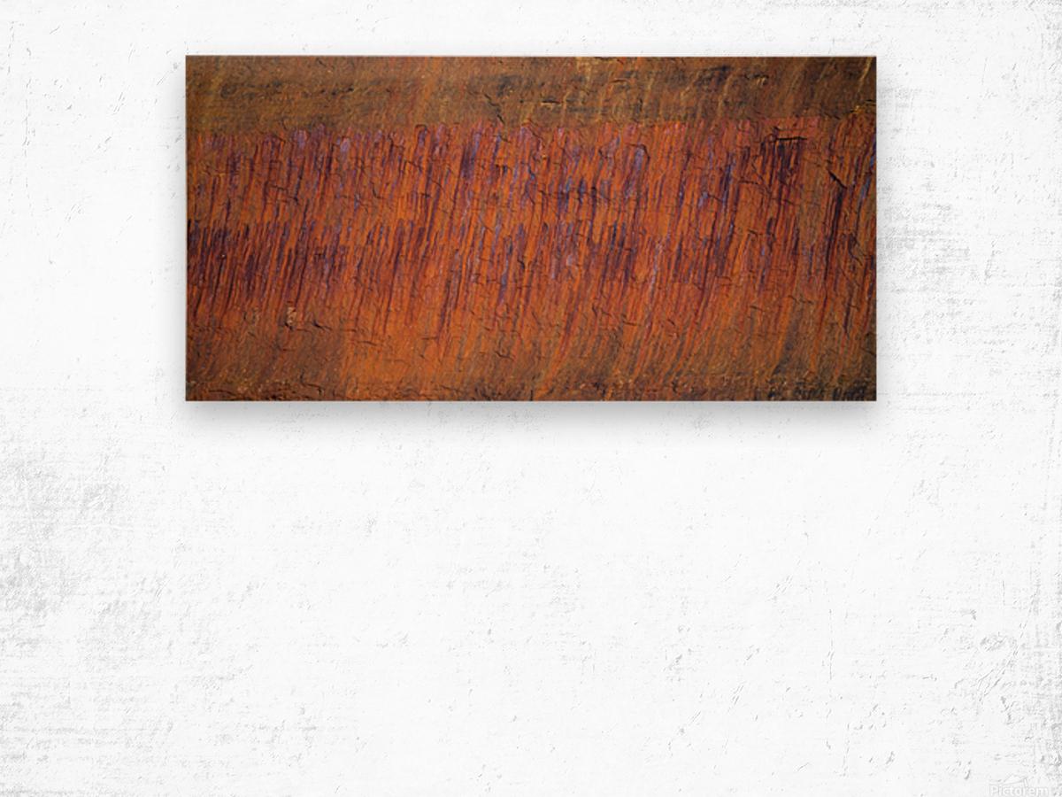 Rust ap 2510 Wood print