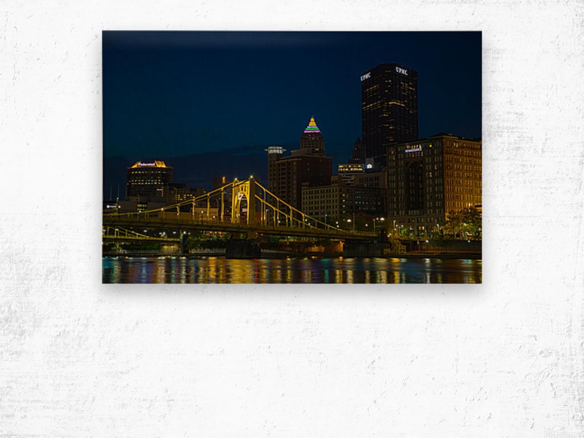 Roberto Clemente Bridge ap 2870 Wood print