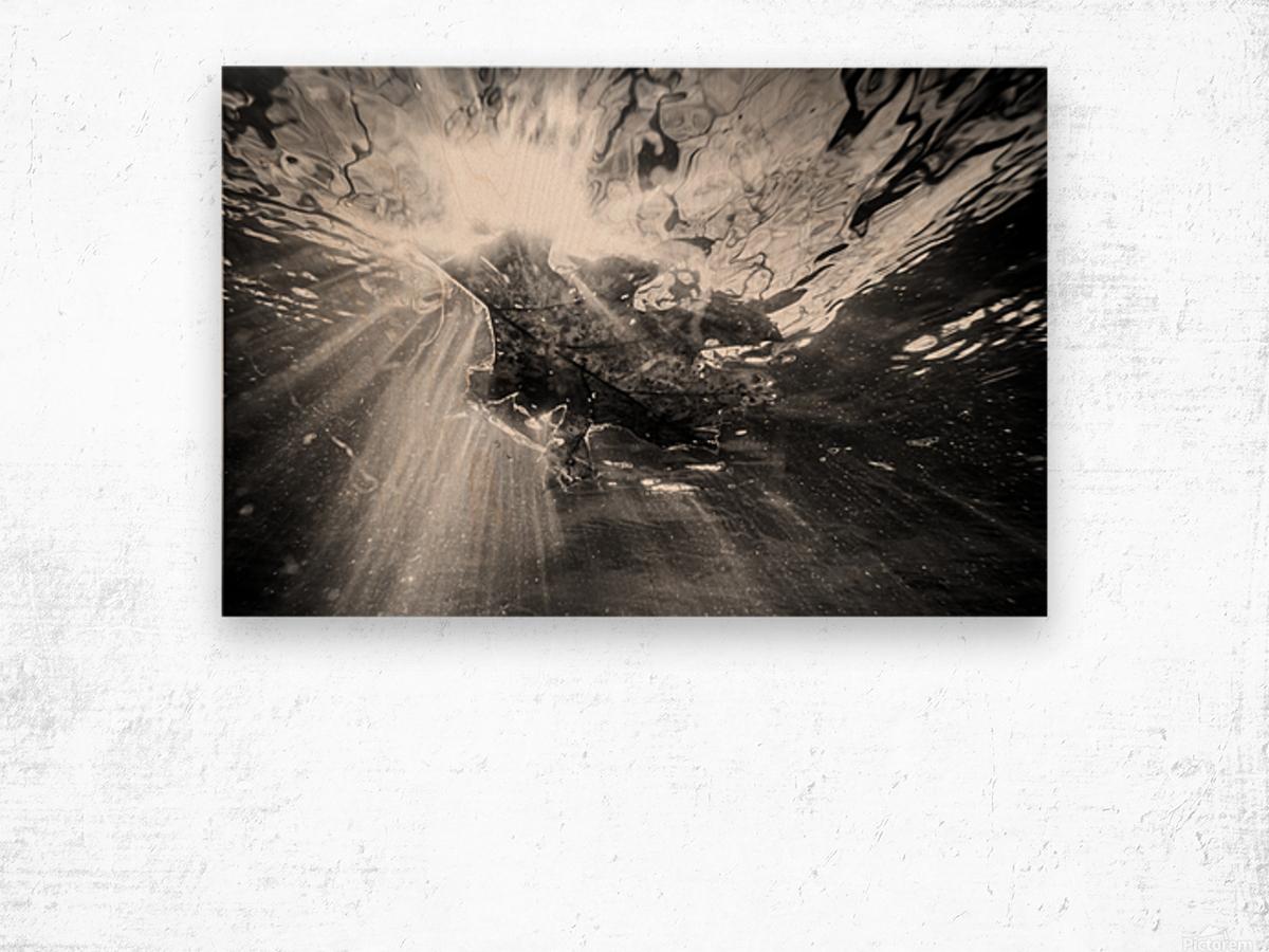 Sunlight ap 2048 B&W Wood print