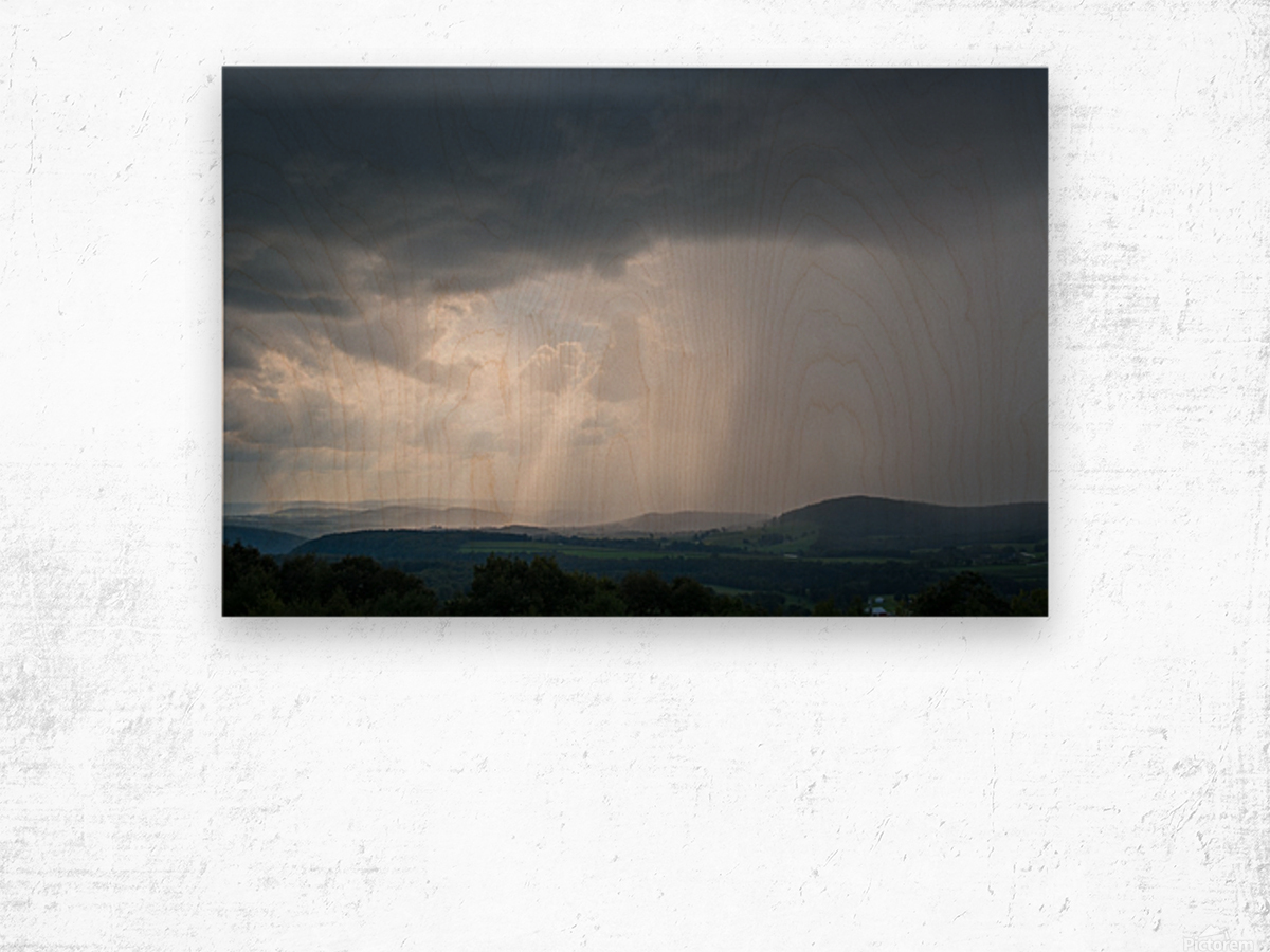 Moving Storm ap 2904 Wood print