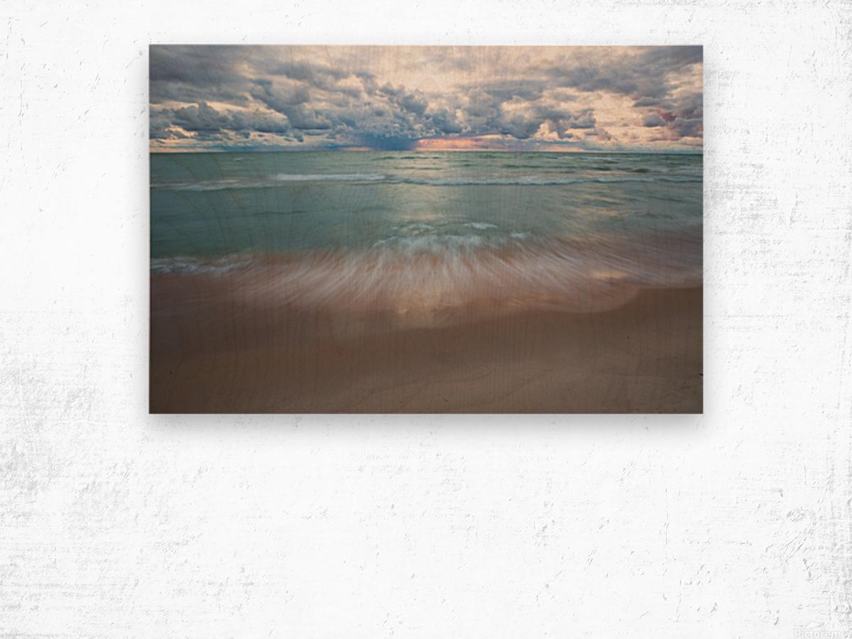 Sunset ap 2448 Wood print