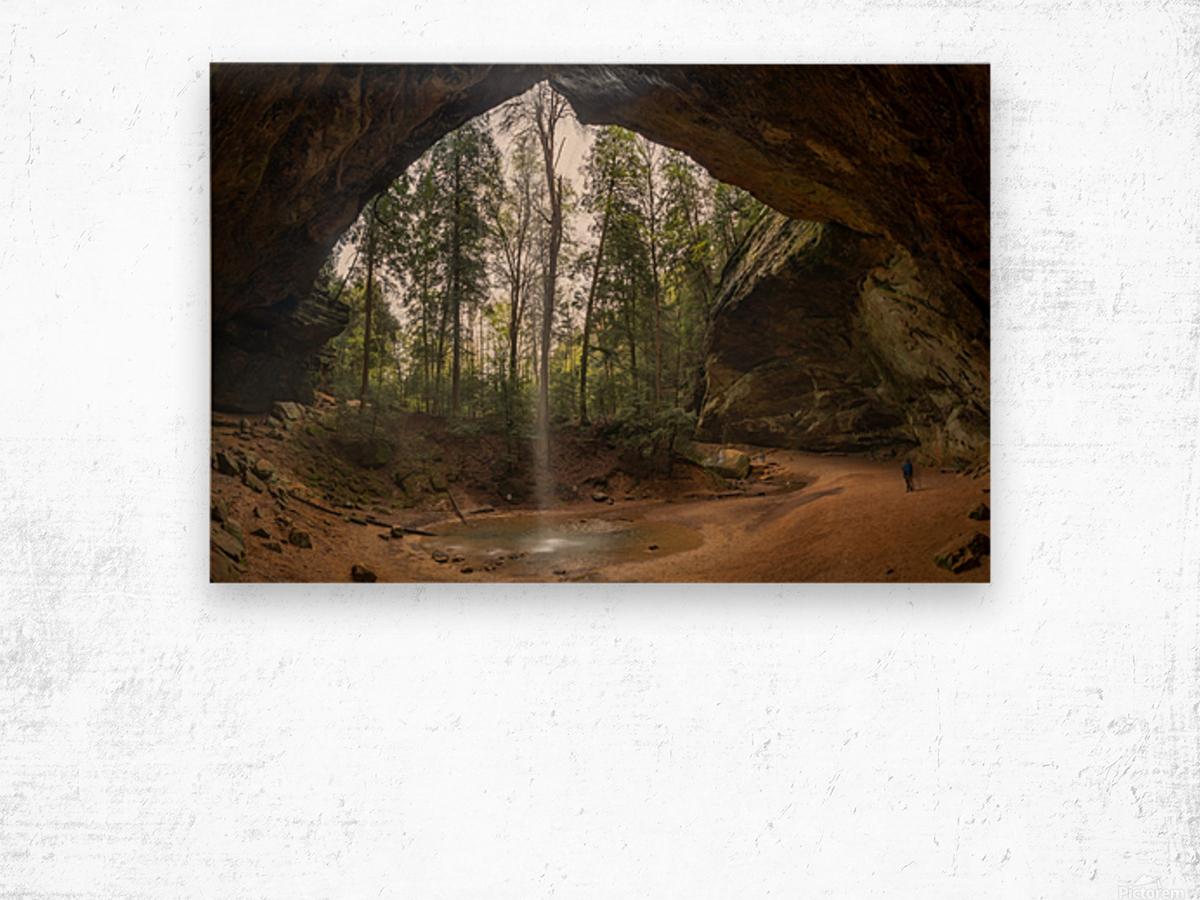 Ash Cave apmi 1648 Wood print