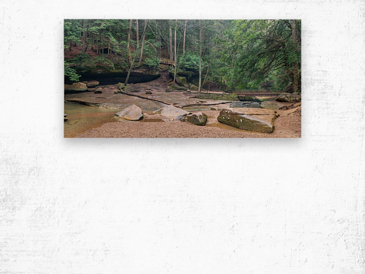 Near Cedar Falls apmi 1632 Wood print