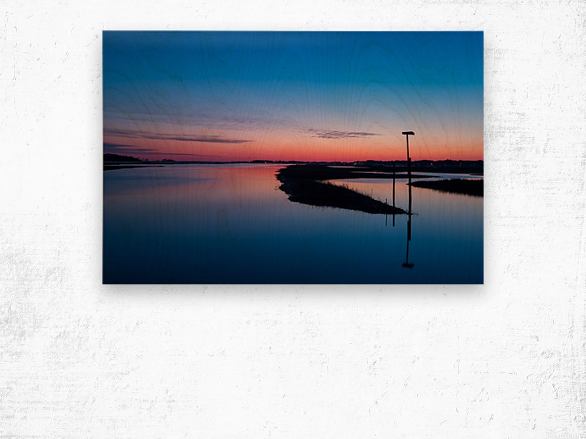 Sunset ap 2762 Wood print