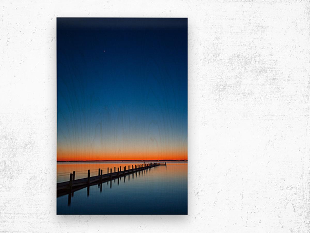 Twilight Sunset ap 1607 Wood print