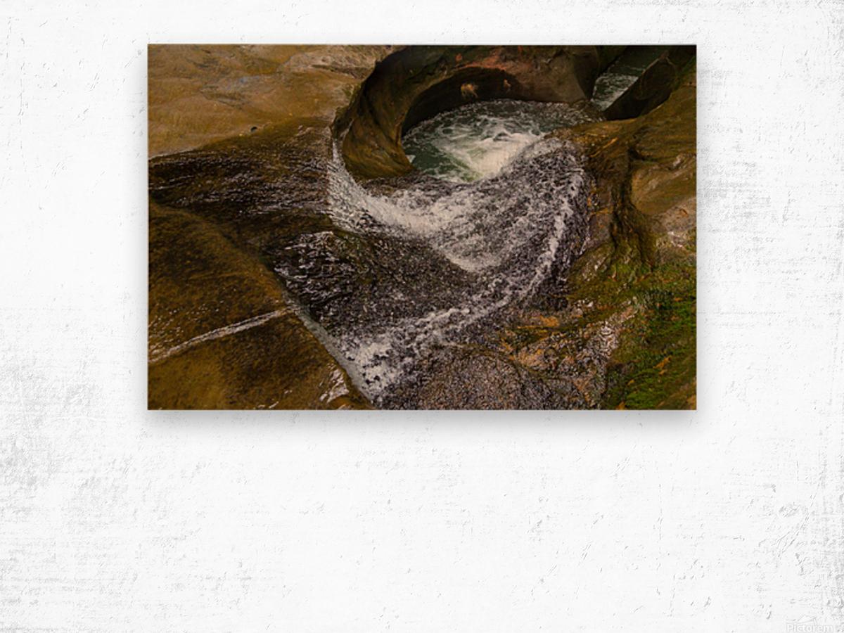 Devils Bathtub ap 2055 Wood print