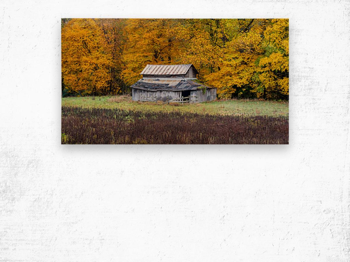 Classic Barn apmi 1888 Impression sur bois
