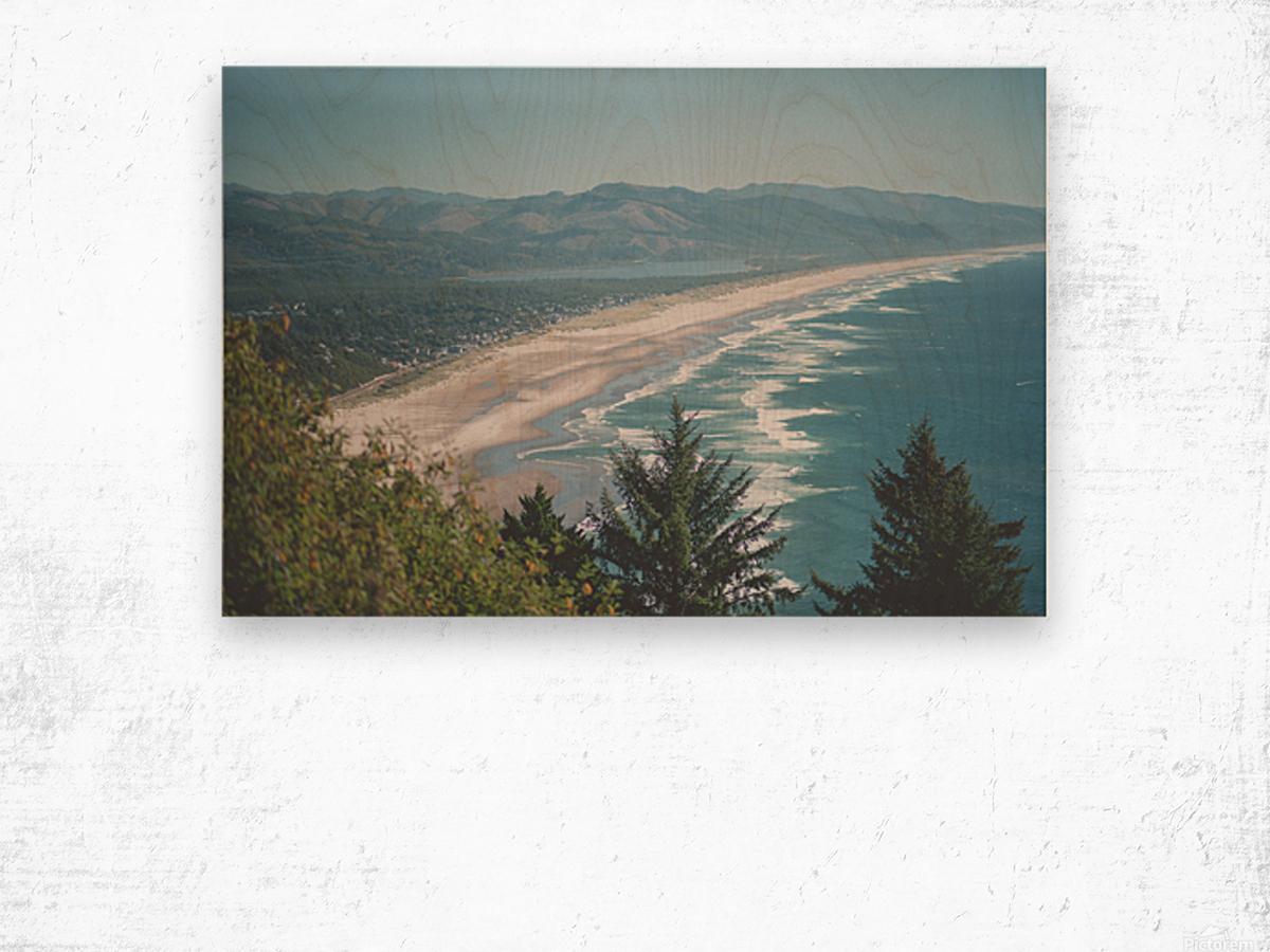 Neahkahnie Beach Wood print