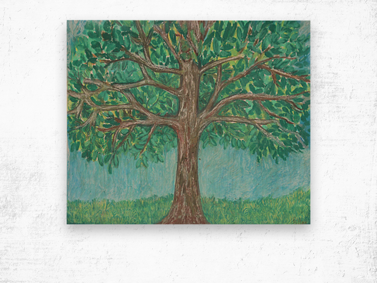 treewalk Wood print