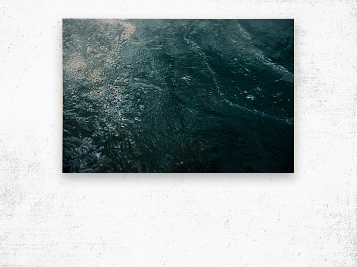 Mckenzie River Wood print