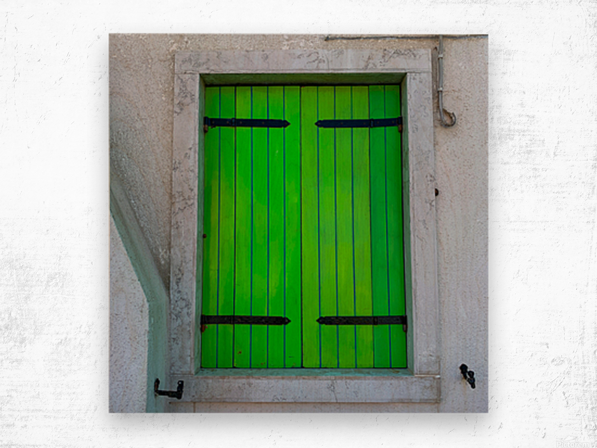 Windows of the World Wood print